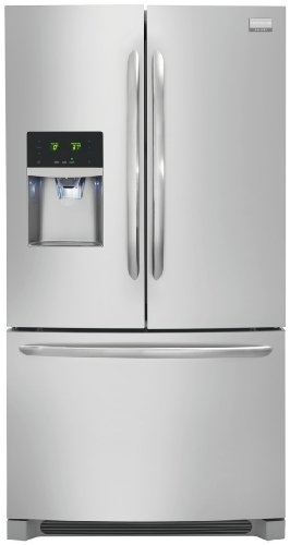 Gallery Series Energy Star 28 Cu. Ft. French Door Refrigerator/Freezer Color: Stainless Steel