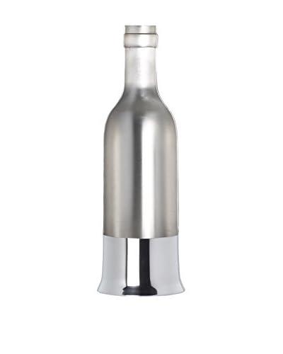 OA 1710 D-Vin Bottle, Shiny Pewter
