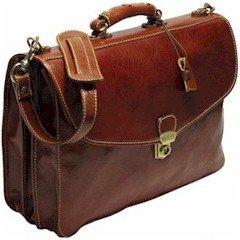 Firenze Italiano Leather Briefcase
