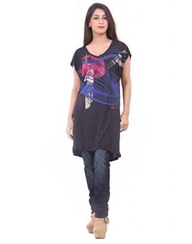 Dkny DKNY Women Blue Maxi Dress - H1T048VJ138- NAVY