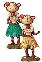 Dashboard Doll Monkey Dancing - Hawaii dashboard dolls - Perfect gift or souvenir