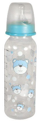 Stephan Baby Bear Bottle 8oz BPA free - Blue