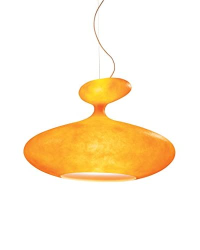 Kundalini Eta Sat Suspension Lamp, Orange