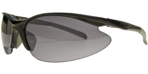 Sonnenbrille Radbrille Sportbrille 4056 schwarz