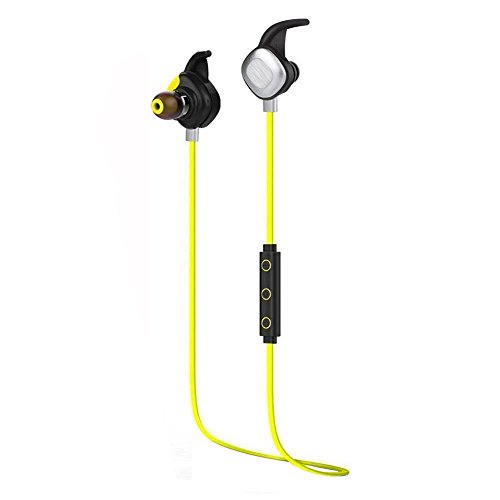 AELEC BTE268 Bluetooth Headphones Sweatproof Waterproof V 4.1 Wireless Earbuds Sport Earphone In Ear Headset Noise Cancelling HiFi Handsfree Earbud With Mic for iPhone Android Gym Exercise (Iphone 4s Metal Housing compare prices)