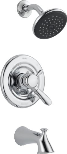Buy Delta T17438 Lahara Monitor 17 Series Tub and Shower Trim, Chrome