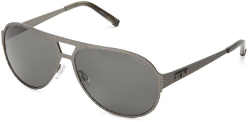 Tumi-Kawazu-KAWAGUN59-Polarized-Aviator-SunglassesGunmetal59-mm