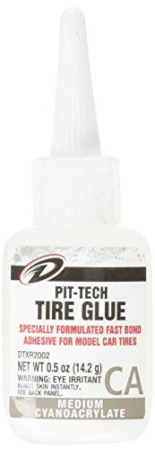 DuraTrax Pit Tech Tire Glue Medium .5 oz (Rc Car Tire Tool compare prices)