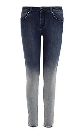Dip dye skinny jean