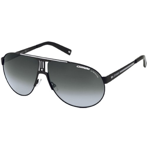 Carrera Panamerika 1/S Adult Casual Wear Sunglasses – Color: Black/Gray Gradient