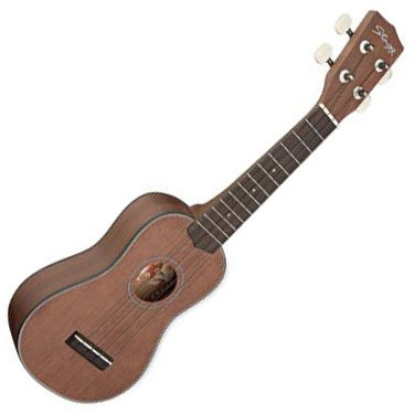 Stagg US40-S Traditional Soprano Ukulele with Free Gigbag