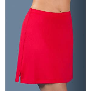 Contrast A-Line Skirt by In-Between