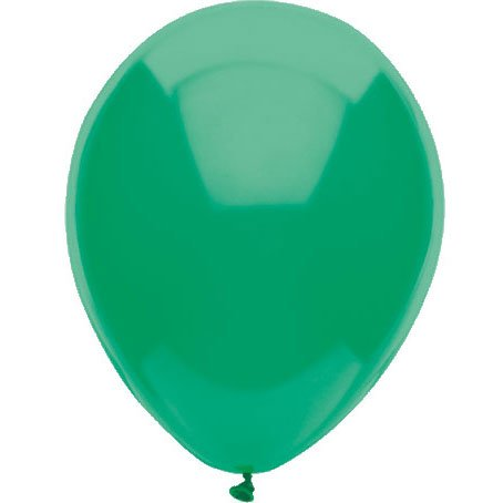 "11"" Deep Jade BSA Balloons (10 Latex (10 per package)"