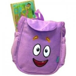 Dora Explorer Plush Backpack Bag