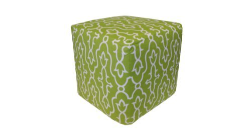 Maira Pouf, Green by Divine Designs [並行輸入品]