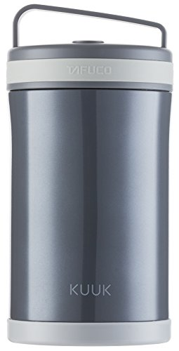 Kuuk Vacuum Food thermos Lunch Box Container Jar - 58oz / 1.8 quart - Stainless Steel (Insulated Containers For Food compare prices)