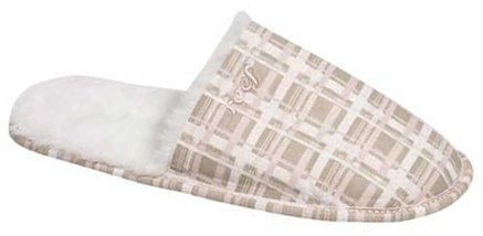Image of Reef Eski Slipper - Light Pink Plaid (B001A46VJE)