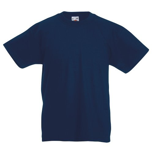 Fruit of the Loom - Kids Value Weight T / Deep Navy, 164 164,Deep Navy