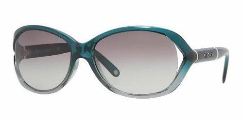 Versace Für Frau 4186 Green Gradient / Grey Gradient Kunststoffgestell Sonnenbrillen