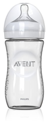 Philips AVENT 8 Ounce Natural Glass Bottle, 1-Pack