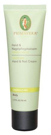 プリマヴェーラ Energizing Ginger Lime Hand Creamエナジャイジング ジンジャーライム ハンドクリーム50mL 1.6fl.oz.