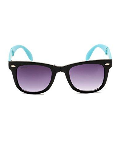 Lifestyle Escobar Lifestyle Light Blue Stylish Foldable Sunglass (Multicolor)