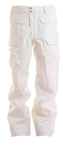 Burton Ronin Cargo Snowboard Pants Bright White Mens Sz XL