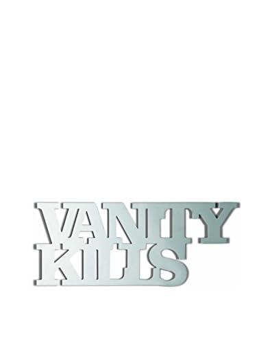 Seletti Vanity Kills Mirror, Silver