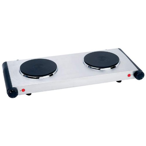 Electric Doubleburner Hotplate - Style Kteldb