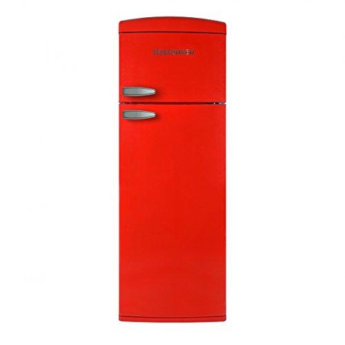 TELEFUNKEN-TFNVIN304RED-Rfrigrateur-2-portes-vintage-Rouge-304L