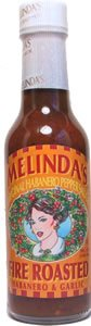 Melindas Fire Roasted Habanero Garlic Pepper Sauce - 5 Oz by Figueroa Brothers