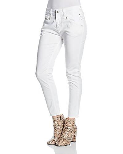 MELTIN'POT Pantalón Leia Blanco W27