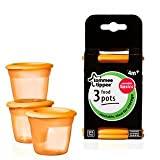 Tommee Tippee Essential Food Pots 4+ Mths 3 per pack