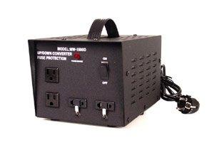 2000 W Watt Step Up / Down Delux Voltage Converter Transformer front-67970