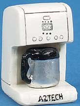 Dollhouse Miniature Automatic Drip Coffee Maker by Aztec Imports, Inc.