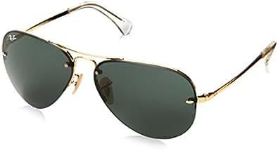 Amazon.com: Ray-Ban RB3449 Aviator Sunglasses 59 mm, Non