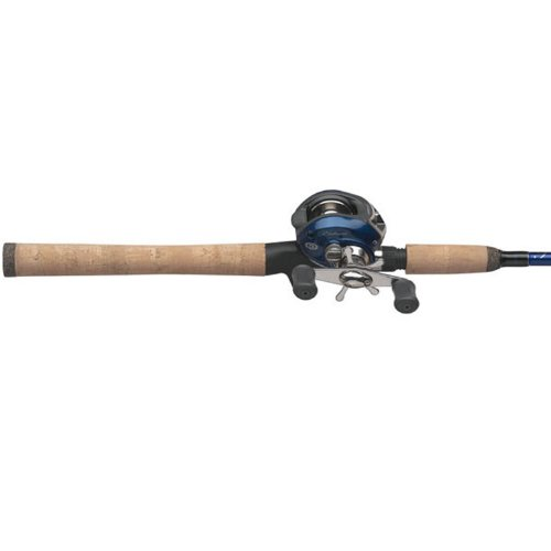 Pflueger Endeavor Baitcast Rod and Reel Combo (1 Piece), 6-Feet 6-Inch