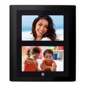 Brand New Motorola 7 Dual Digital Photo Frames With Slideshow Supports Multiple Memory Card Formats