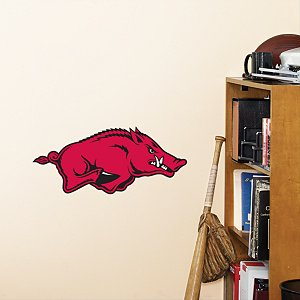 FATHEAD. ARKANSAS RAZORBACKS FATHEAD VINYL WALL GRAPHIC 11X11 INCH LOGO at Amazon.com