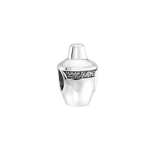 Authentic Chamilia Shaken and Stirred Sterling Silver and Swarovski Crystals 2025-1599