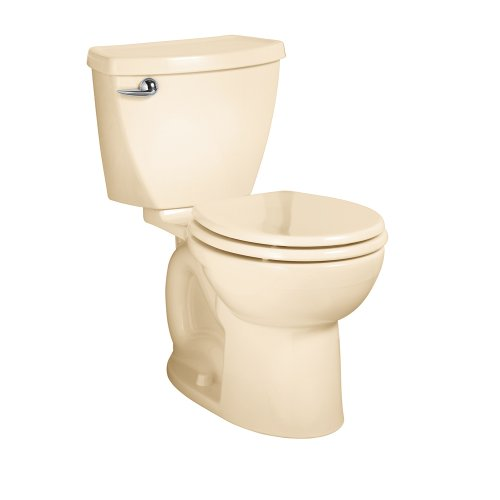American Standard 270Da001.021 Cadet 3 Round Front Two-Piece Toilet With 12-Inch Rough-In, Bone front-757999