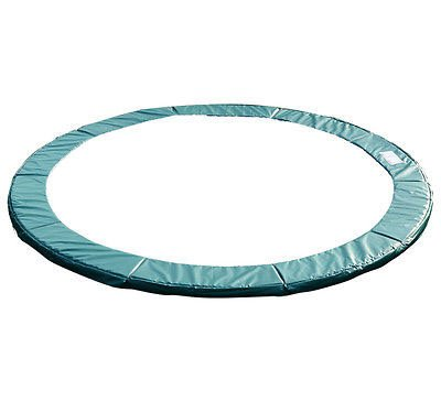 Exacme 6180-CP14G Trampoline Replacement Spring Round Cover Safety Pad Frame, Green, 12' (Trampoline Pad 12 compare prices)