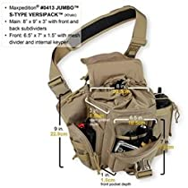 Maxpedition Jumbo S-Type Versipack (Fire/EMS Red)
