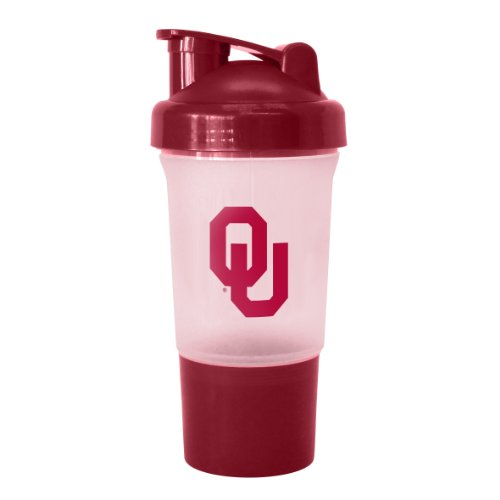 NCAA Oklahoma Sooners 16-Ounce Protein Shake Bottle