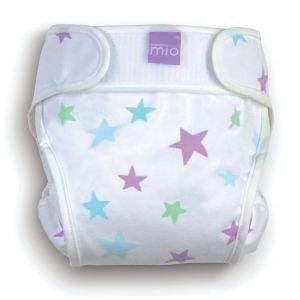 Bambino Mio Miosoft Cloth Diaper Cover - White