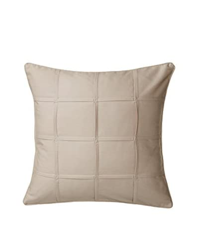 Eddie Bauer Square Pleated Pillow, Khaki
