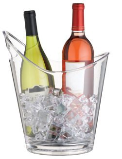Bar Craft Wine Bucket - Clear