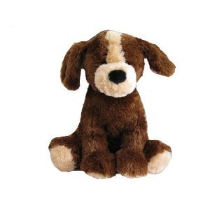 Brown Puppy Dog Soft Plush 10""