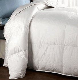 Twin/ Twin Xl Size White Down Alternative Comforter 300 Thread Count 40 Oz Down Alt Fillings By Sheetsnthings