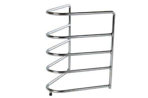 Pfannenstnder-fr-4-Pfannen-Aus-galvanisiertem-Stahl